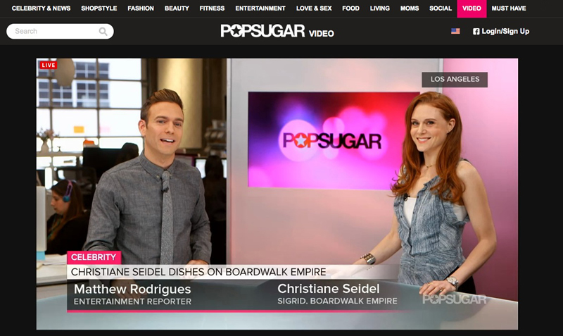 popsugar video on social media facebook